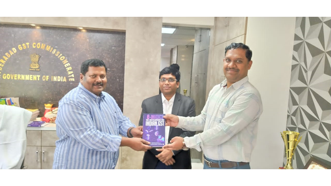 GST Commissioner unveils e-Invoice Book