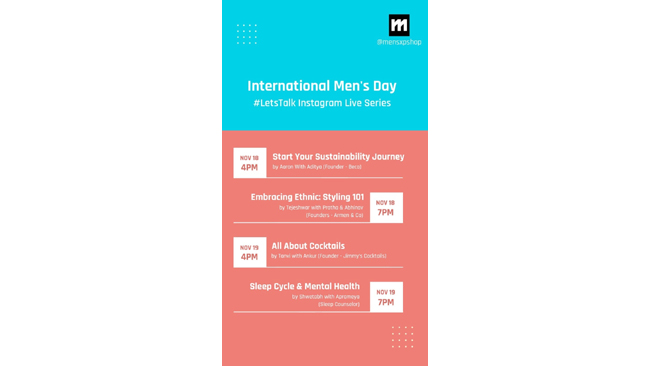 MensXP Sparks Nationwide Dialogue On Men's Health & Well-Being On International Men's Day