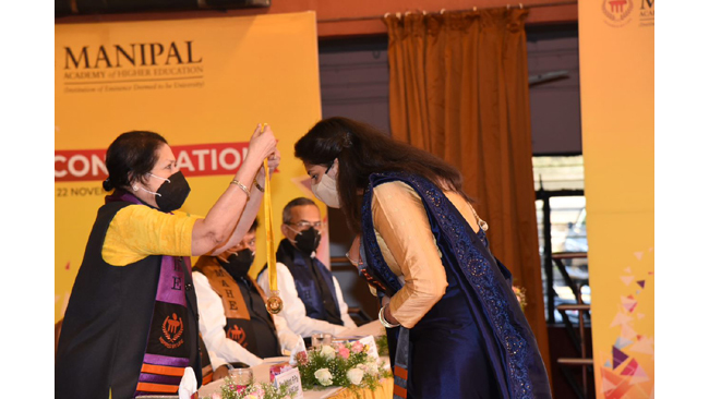'Give the world the best you have,' says VC of O.P. Jindal Global, Institution of Eminence University to graduating students of MAHE