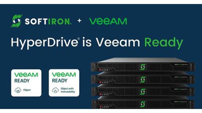 SoftIron's Open Source-Based HyperDrive® Storage Solution Verified Veeam Read