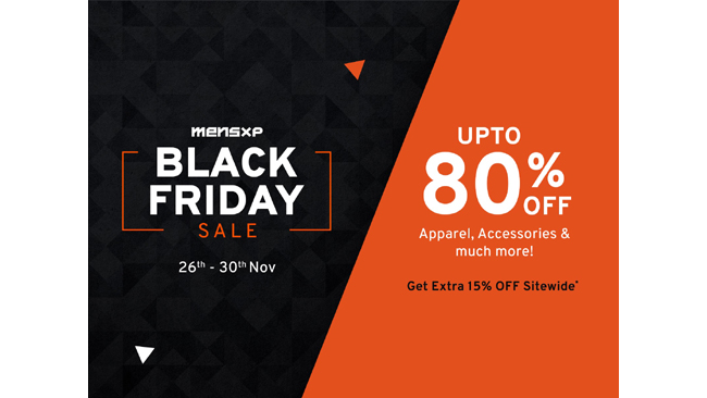 Liven Up Your Look This Thanksgiving With MensXP's Black Friday Sale '20!