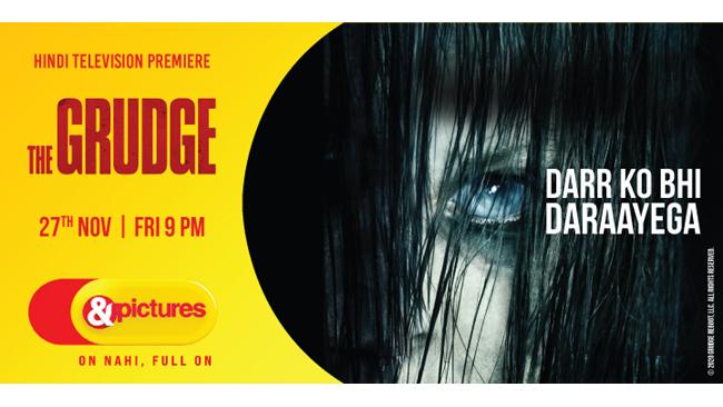 Witness darr ka naya address in the Hindi Television Premiere of the 'The Grudge', a reboot of the popular horror franchiseonly on&pictures