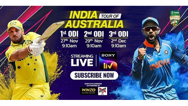 winzo-becomes-the-official-co-powered-sponsor-in-india-australia-series-on-sony-liv