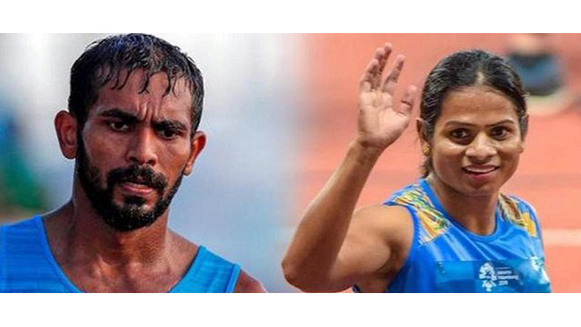 dutee-chand-and-kt-irfan-included-in-tops-core-group-along-with-some-promising-young-athletes-in-development-group
