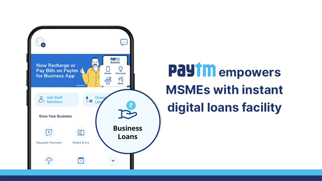 paytm-partners-with-suryoday-small-finance-bank-to-empower-msmes-with-instant-digital-loans