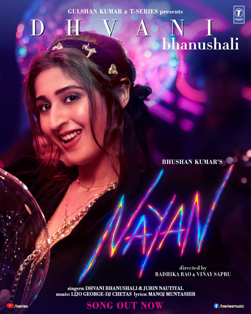bhushan-kumar-s-next-dhvani-bhanushali-s-music-video-nayan-will-be-this-year-s-cutest-college-romance-story