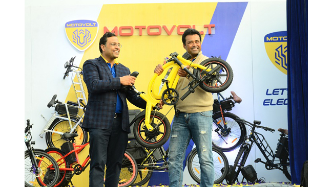 Motovolt Mobility Launches India's First Fleet of Smart E-Cycles