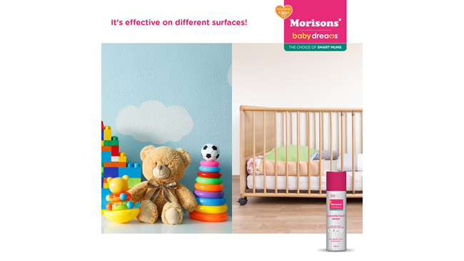 Morisons Baby Dreams Presents India's First Disinfectant Spray for Baby Gear, Accessories and Toys