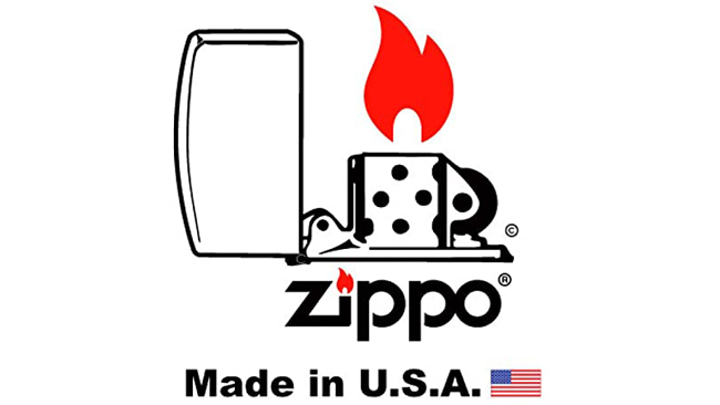 A classic Zippo flame to light up the holiday spirit