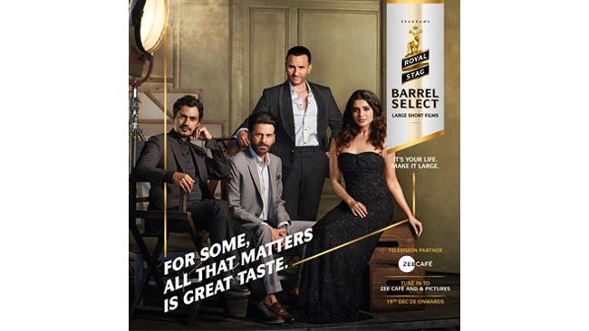 Royal Stag Barrel Select Large Short Films decodes the growth and evolution of the short film format with the finest in Cinema