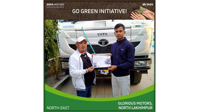 Tata Motors leads the way for a greener India; launches ' Go Green' initiative