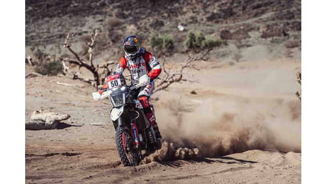HERO MOTOSPORTS TEAM RALLY BEGINS 2021DAKAR WITH A SOLID STAGE 1
