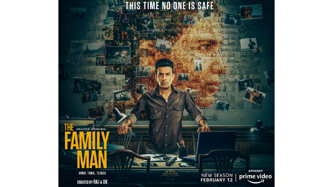 AMAZON PRIME VIDEO CONFIRMS '12.02.2021' AS THE LAUNCH DATE FOR THE NEW SEASON OF THE HIGHLY-ACCLAIMED AMAZON ORIGINAL THE FAMILY MAN