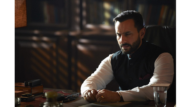 """I enjoy playing characters with multiple shades and Tandav gave me an opportunity to portray exactly that,"" Saif Ali Khan"