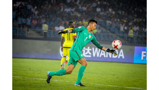 FC Goa rope in Dheeraj Singh on a long-term deal  ~ The youngster started all games for India during the FIFA U17 World Cup in 2017 ~