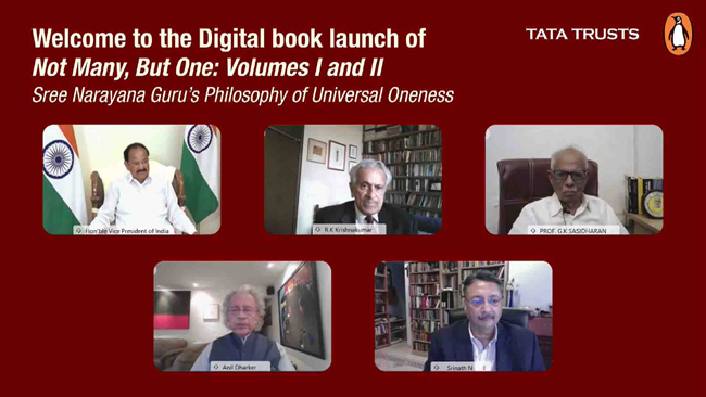 vice-president-of-india-mr-venkaiah-naidu-launches-book-not-many-but-one
