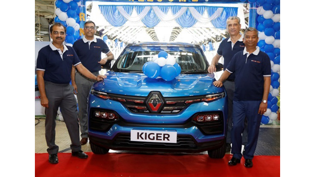 Renault India Commences Mass Production of Renault KIGER