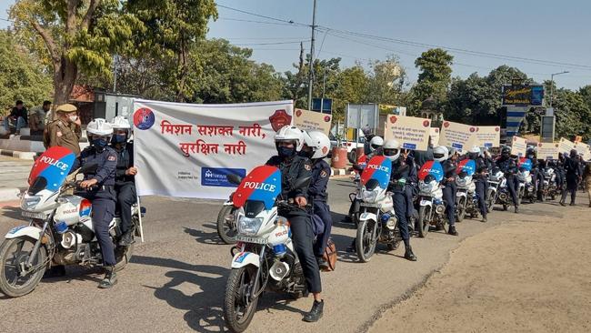नारायणा हॉस्पिटल और जयपुर पुलिस का संयुक्त प्रयास, रहे हर महिला सुरक्षित
