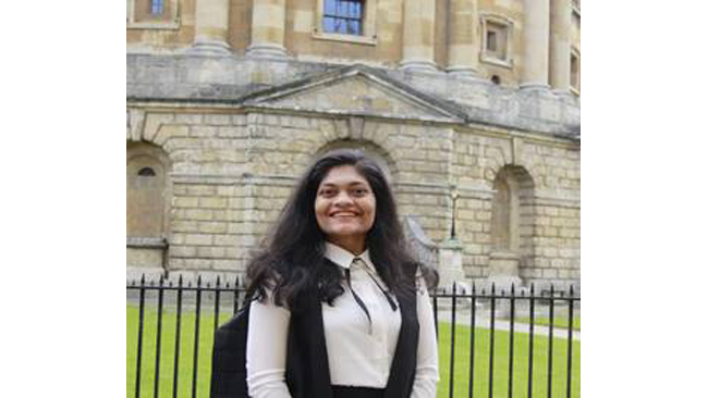 Ms. Rashmi Samant, Alumna of Manipal Institute of Technology, wins the Oxford SU Presidency