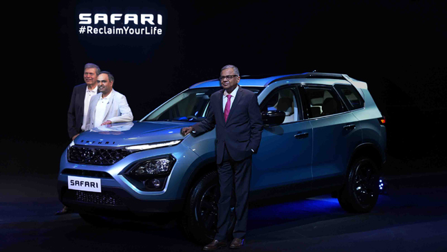 Tata Motors launches its iconic flagship SUV –the all-new Safari