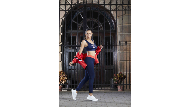 Reebok introduces its range of walking products to encourage people to live a fitter, better lifestyle