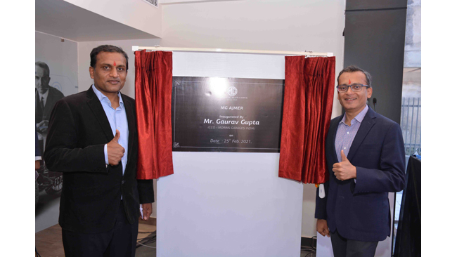 mg-expands-its-presence-in-rajasthan-inaugurates-3s-showroom-in-ajmer