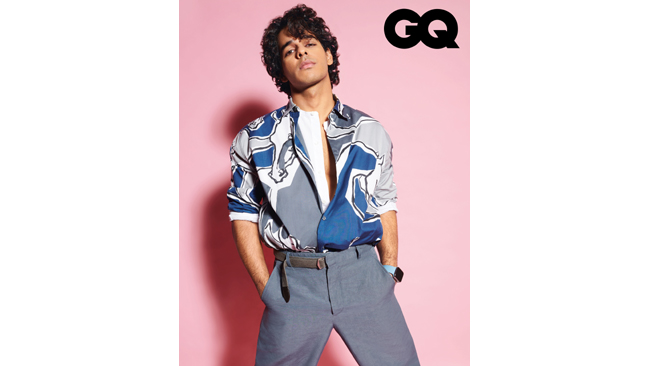 GQ India March 2021 Cover | Ishaan Khatter