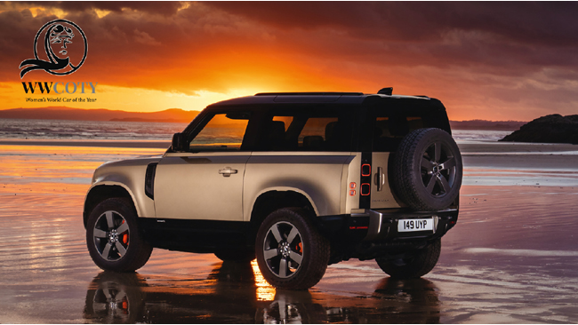 LAND ROVER DEFENDER BECOMES SUPREME WINNER WOMEN'S WORLD CAR OF THE YEAR 2021