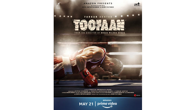 AMAZON PRIME VIDEO& EXCEL ENTERTAINMENT TO GLOBALLY PREMIERE THIS YEAR'S MOST-AWAITED SUMMER BLOCKBUSTER — TOOFAAN