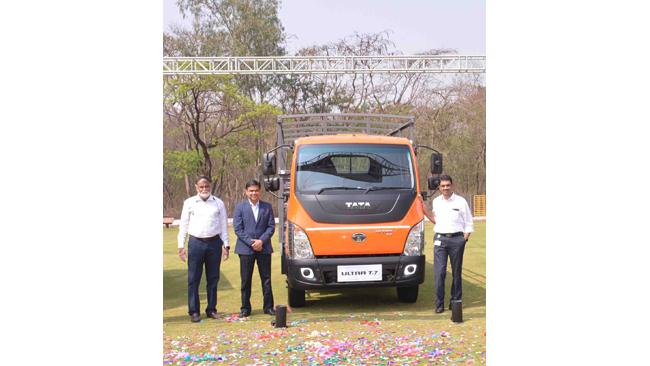 Tata Motors unveils the Ultra Sleek T-Series range of new-generation, smart trucks