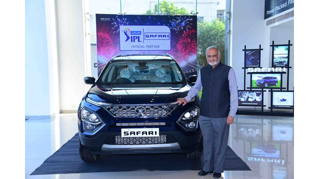 The all-new Tata SAFARI is the Official Partner for VIVO IPL 2021