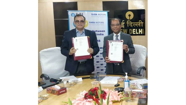 tata-motors-and-sbi-join-forces-to-offer-innovative-financial-solutions-to-commercial-vehicle-customers