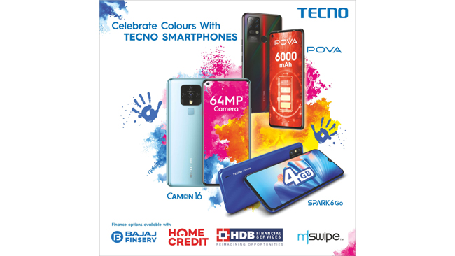 tecno-adds-to-holi-celebrations-with-easy-finance-options-on-smartphones
