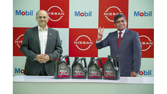nissan-india-and-exxonmobil-join-hands-to-supply-lubricants-for-the-passenger-vehicles-business