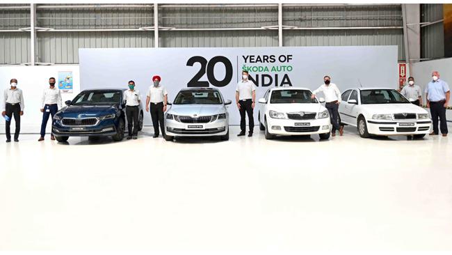 SKODA AUTO India commences production of the all new OCTAVIA