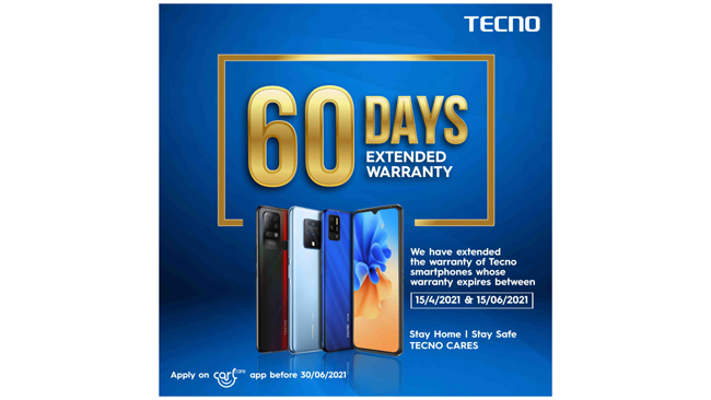 tecno-announces-a-60-days-warranty-extension-policy-amidst-second-wave-of-covid-19