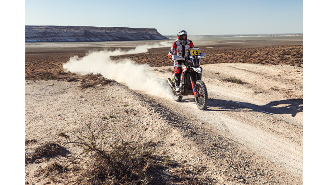 HERO MOTOSPORTS TEAM RALLY DELIVERS A STEADY PERFORMANCE IN STAGE 1 OF RALLY KAZAKHSTAN