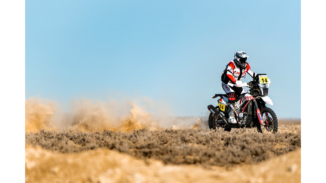 HERO MOTOSPORTS TEAM RALLY POSTS A STRONG RESULT IN STAGE 3 OF RALLY KAZAKHSTAN