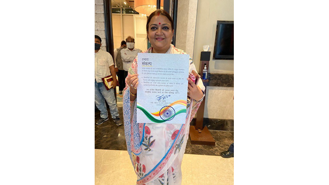 किशोर स्वास्थ्य में सुधार के लिए राजस्थान के वरिष्ठ मंत्रियों ने संकल्प लिया