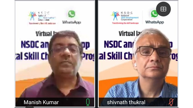 """NSDC and WhatsApp launch """"Digital Skill Champions Program"""" for youth"""