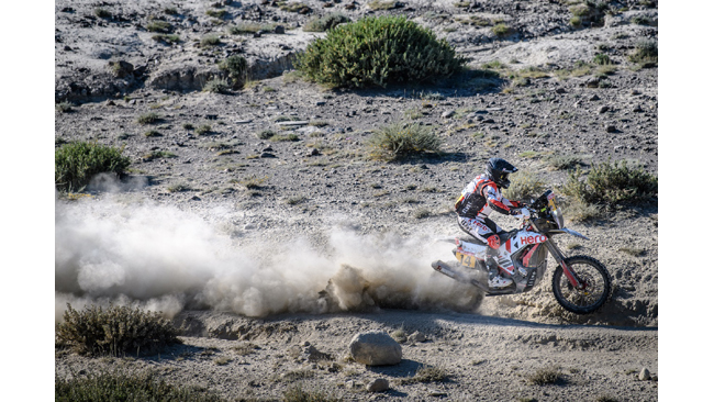 HERO MOTOSPORTS TEAM RALLY COMPLETES ANOTHER STAGE OF SILKWAY RALLY WITH A STRONG RESULT