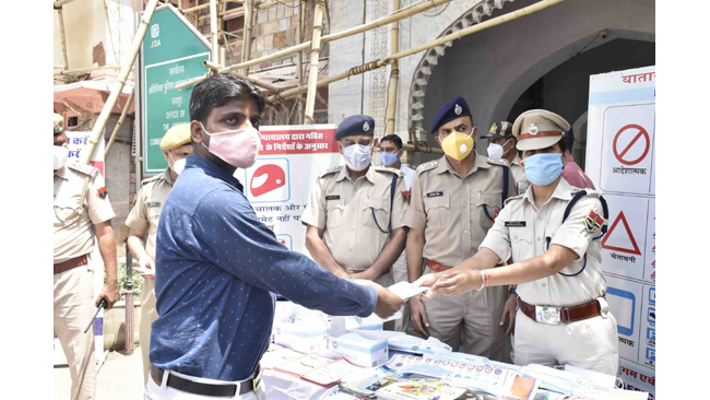 HERO MOTOCORP EXTENDS COVID-19 RELIEF SUPPORT TO THE POLICE DEPARTMENT IN JAIPUR