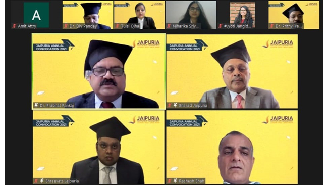 jaipuria-institute-of-management-organises-2nd-e-convocation-1023-students-awarded-degrees