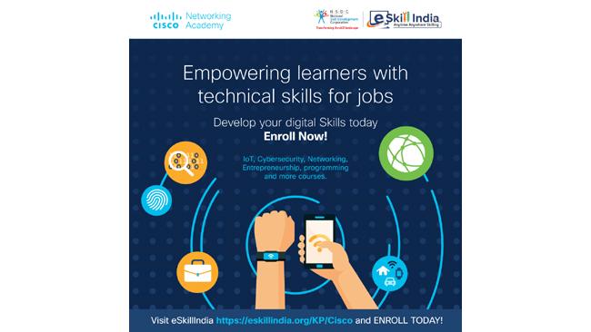 Cisco and NSDC Partner to Upskill India in Digital Skills