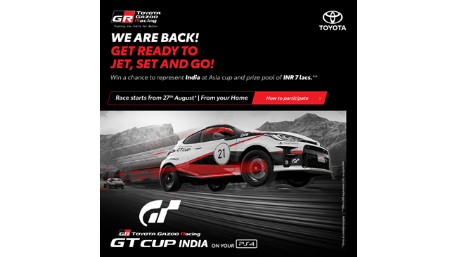 TOYOTA GAZOO Racing (TGR) announces Second Edition of GT Cup India 2021