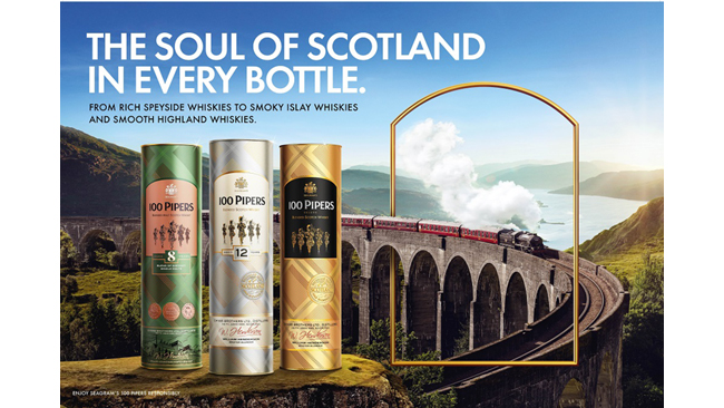 1 Million cases in sales- Seagram's 100 Pipers becomes the first & only scotch brand in India to smash the record, yet again