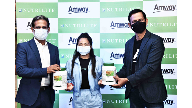 Amway India on boards Olympic medalist Saikhom Mirabai Chanu as the brand ambassador for Amway and its Nutrilite range