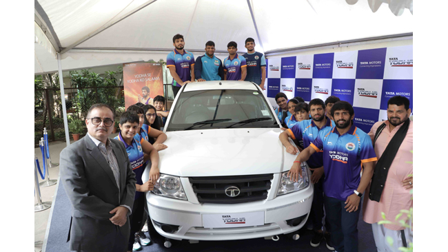 tata-motors-launch-quest-for-gold-at-paris-olympics-2024-to-provide-holistic-support-to-the-wrestling-community