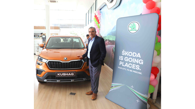 SKODA offers 'Peace of Mind' to customers in Udaipur with SUV KUSHAQ