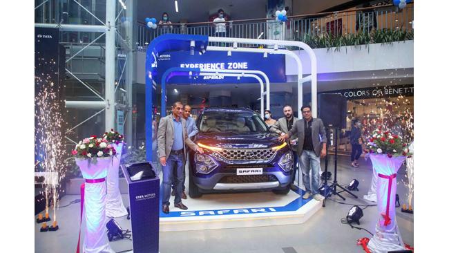 The All-new Tata Safari debuts in the Himalayan country of Nepal